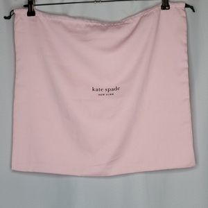 NEW Kate Spade Large Pink Dust Bag